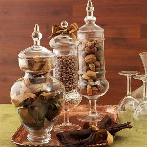 25  best ideas about Jar Fillers on Pinterest   Coffee bean decor, Cheap kitchen tables and