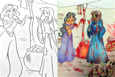 24 disturbing coloring book corruptions 28 awful corruptions in coloring books that will give your