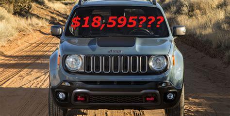 2014 Jeep Renegade Price 2015 Jeep Renegade Pricing