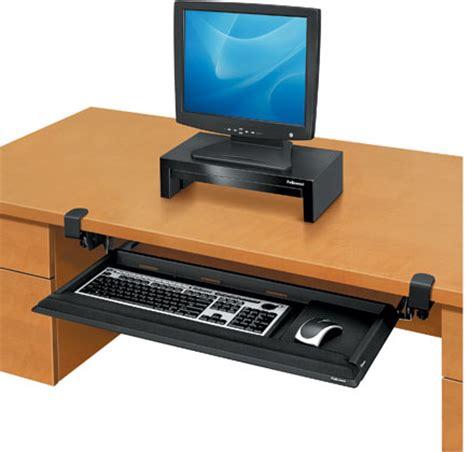 Deskready Keyboard Drawer by Fellowes Deskready Keyboard Drawer With Foam Wrist Rest