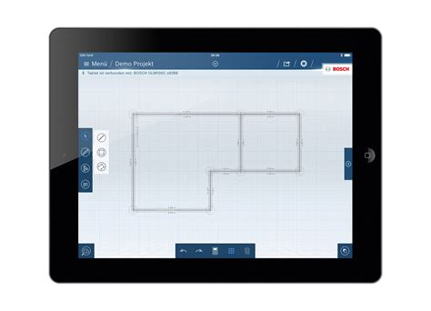 easy floor plan app the glm floor plan app from bosch for professionals