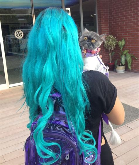 Manic Panic Lified Voodoo Blue Murah manic panic voodoo blue hair colar and cut style