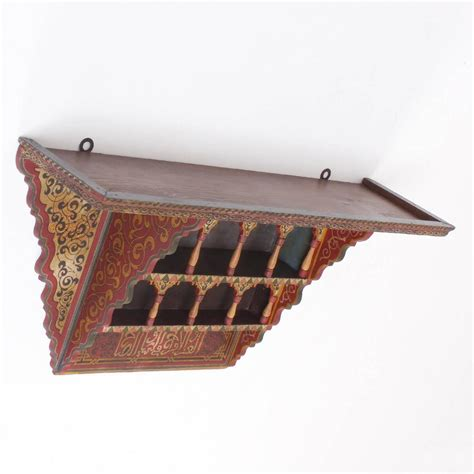 Moroccan Shelf by Early 20th Century Moroccan Wall Shelf For Sale At 1stdibs