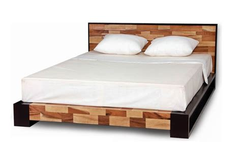 Platform Bed Las Vegas Las Vegas Collection Mahogany And Reclaimed Wood Platform