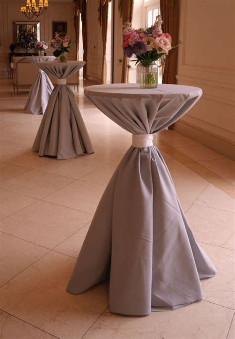 cocktail table linen ties 479 best images about cocktail tables on