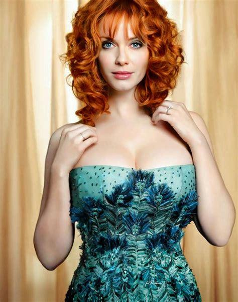 redhead christina hendricks beautiful redhead actress christina hendricks big boobs