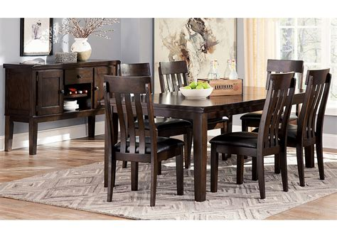 dark dining room table jarons haddigan dark brown rectangle dining room extension