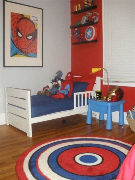 Superhero Bedroom Decorations | marvel superhero bedroom ideas kid stuff pinterest