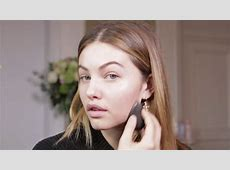 Make up tutorial by Thylane Blondeau - #GRWM - YouTube L'oreal Hair Products