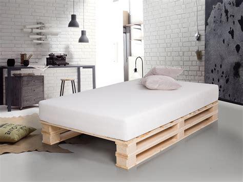 bett paletten paletti duo massivholzbett aus paletten 120 x 200 cm