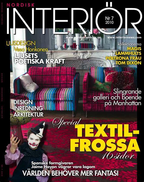 Design Magazine Sweden | swedish belvedere design magazine feature lorna syson