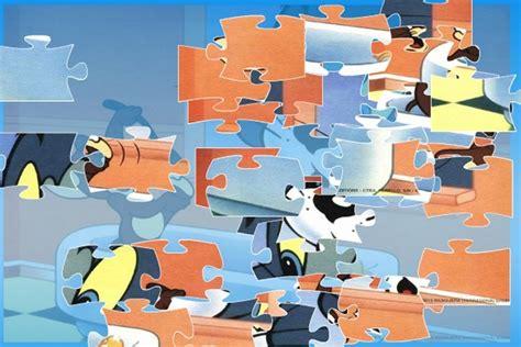 Puzzle Jigsaw Tom Jerry tom jerry in the bathtub jigsaw puzzle tom jerry loon