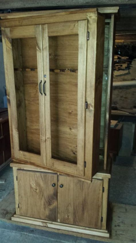 how to build a gun cabinet plans for simple gun cabinet woodworking projects plans