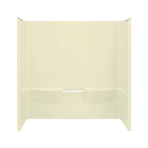 sterling bathtub surrounds shop sterling performa 60 in w x 30 in d x 60 25 in h