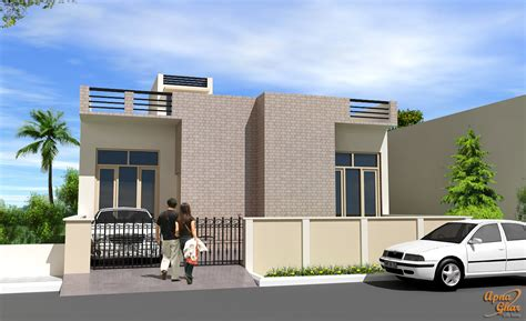 3 bedrooms simplex house design in 270m2 15m x 18m 3 apnaghar house design complete architectural solution