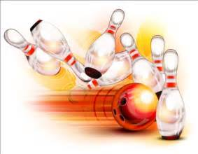 Creative Bowling Vector Background 05 Vector Background