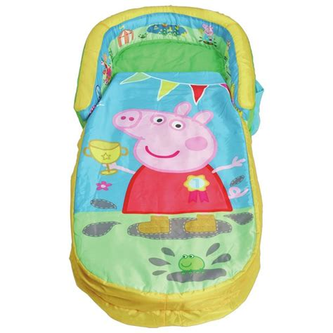 peppa pig chair argos buy peppa pig my toddler readybed airbed and
