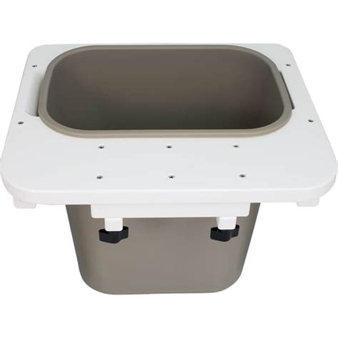 trash can for a boat pontoon trash can trash can for your pontoon boat