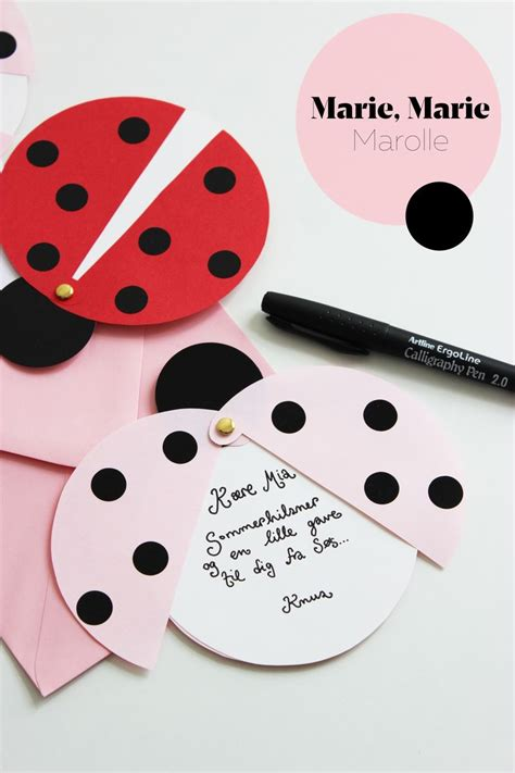 Ladybug Birthday Card Template by 786 Best Crafts Invitation Cards Images On