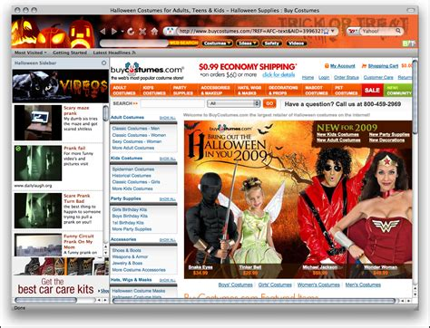 firefox themes full halloween 2009 firefox theme full windows 7 screenshot