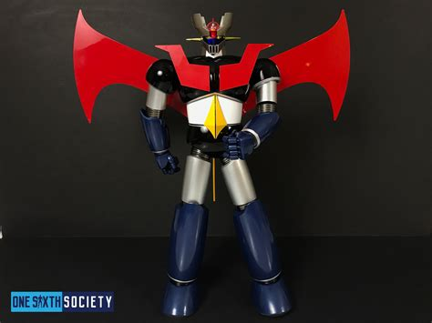 mazinger z figure future quest mazinger z review one sixth society