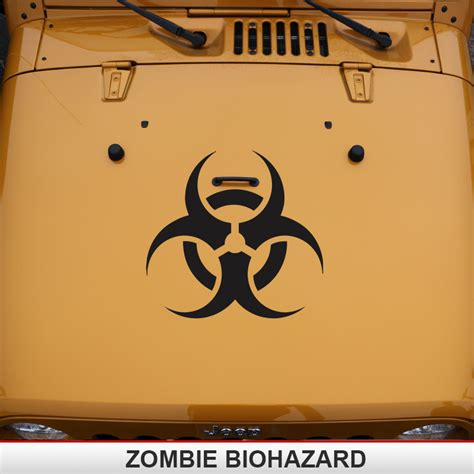 zombie jeep decals supdec jeep