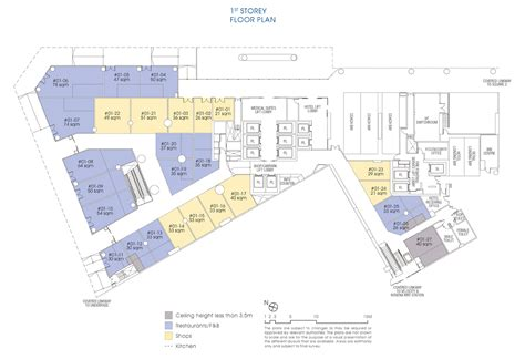 shopping mall floor plan floor plan site plan