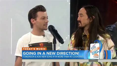 steve aoki one direction louis tomlinson confirmed one direction is coming back