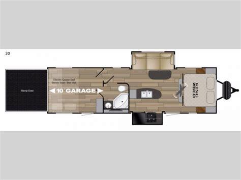 hauler travel trailer floor plans torque xlt hauler travel trailer rv sales 8 floorplans