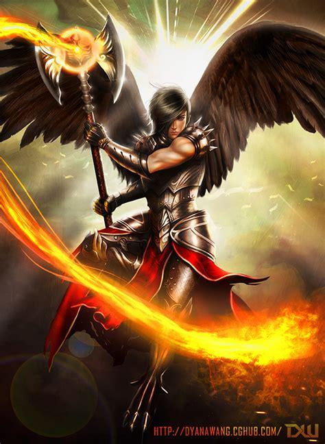 Kaos Original Lucifer 11 firestorm archangel by chekydotstudio on deviantart