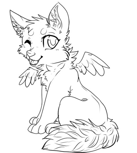 winged cat coloring page winged cats free coloring pages
