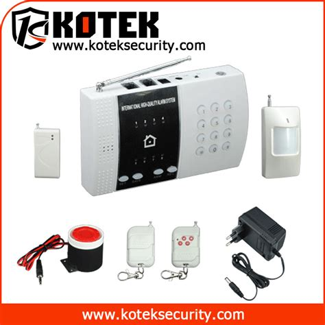 anti theft wireless alarm system with 8 wireless defense