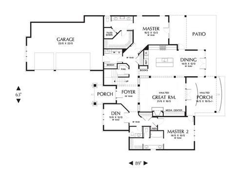 mascord house plan 2396 traditional master bedrooms and