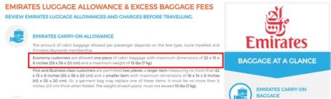 2017 emirates baggage allowance for hand hold luggage emirates handbag allowance handbag reviews 2017