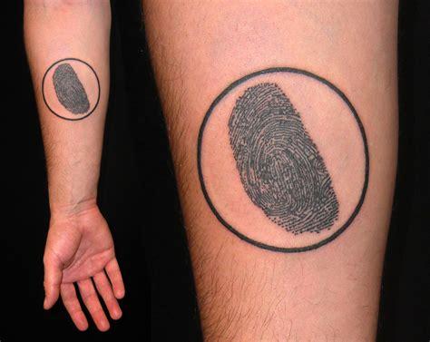 fingerprints tattoo jay fingerprint john paul bonanno