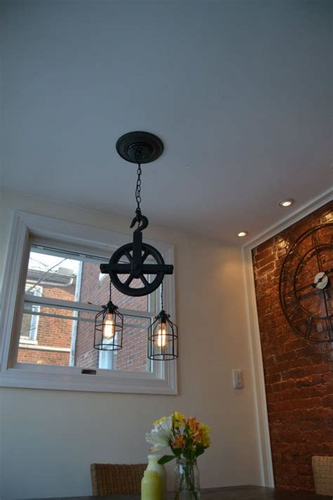 hanging light fixture parts custom listing for andrea barn pulley industrial light