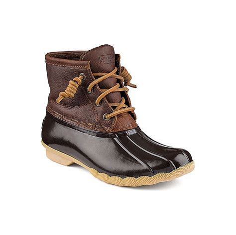 sperry duck boots womens sperry top sider sts91176 s saltwater duck boot