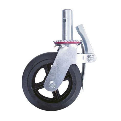 Heavy Duty Outdoor Rugs Metaltech 8 In Scaffolding Caster Wheel M Mbc8 The Home