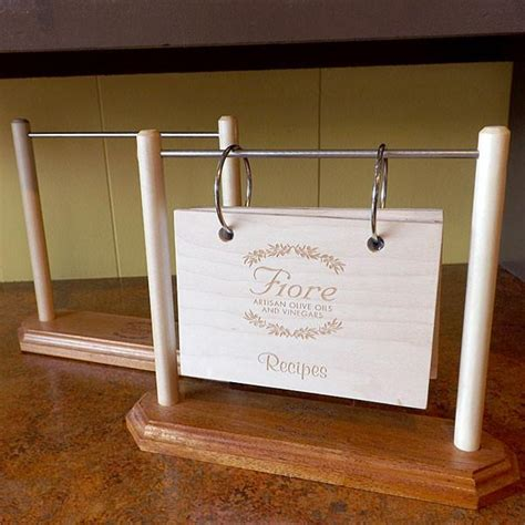 Recipe Book Rack by Recipe Book Stand Fiore Artisan Olive Oils Vinegars