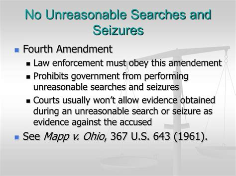 Unreasonable Search And Seizure Ppt Criminal Procedure Powerpoint Presentation Id 1410452