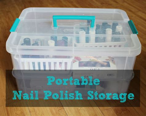 diy nail rack shoe box 17 best images about bathroom storage on