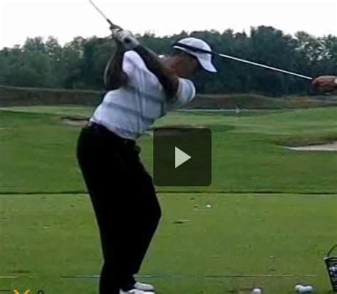 iron swing slow motion tiger woods tigers and swings on pinterest