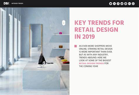 key trends  retail design   design build