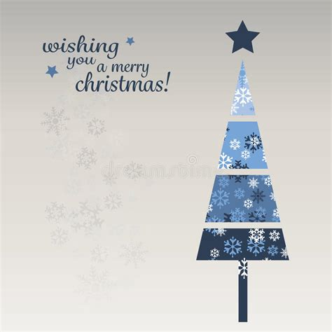 Blue Christmas Card Template Stock Vector Image 47502355 Card Template Blue