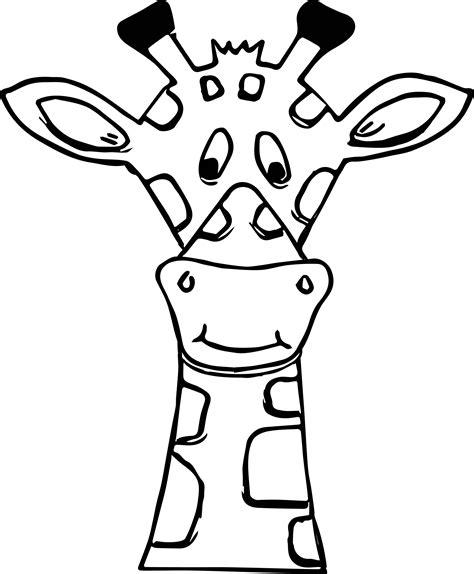 giraffe face coloring pages giraffe relaxing coloring page giraffe face coloring page