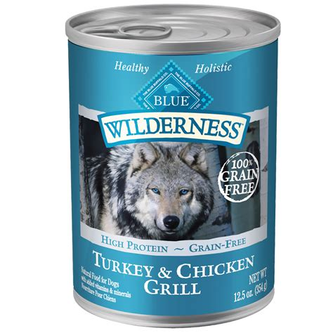 blue puppy food blue buffalo wilderness turkey chicken canned food