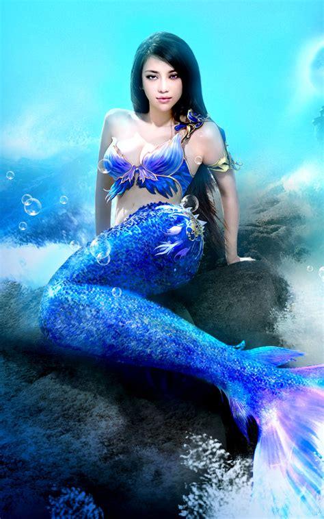 imagenes de sirenas reales y bonitas fantasy gaming wallpapers for your desktop part 2