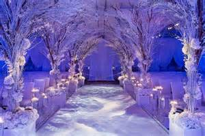 Winter Wedding Aisle Decorations - pin by chameleon chair on weddings pinterest