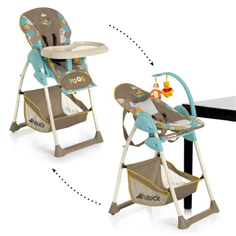 Reclinable High Chair by Hauck Sit N Relax Baby Childs High Chair And Reclining