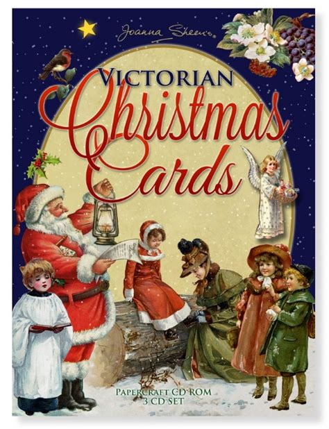 images of victorian christmas cards cd rom victorian christmas cards 3 disk set from joanna